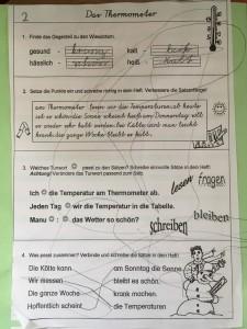 """""""Hausaufgaben"""" vom Nesthäkchen"""